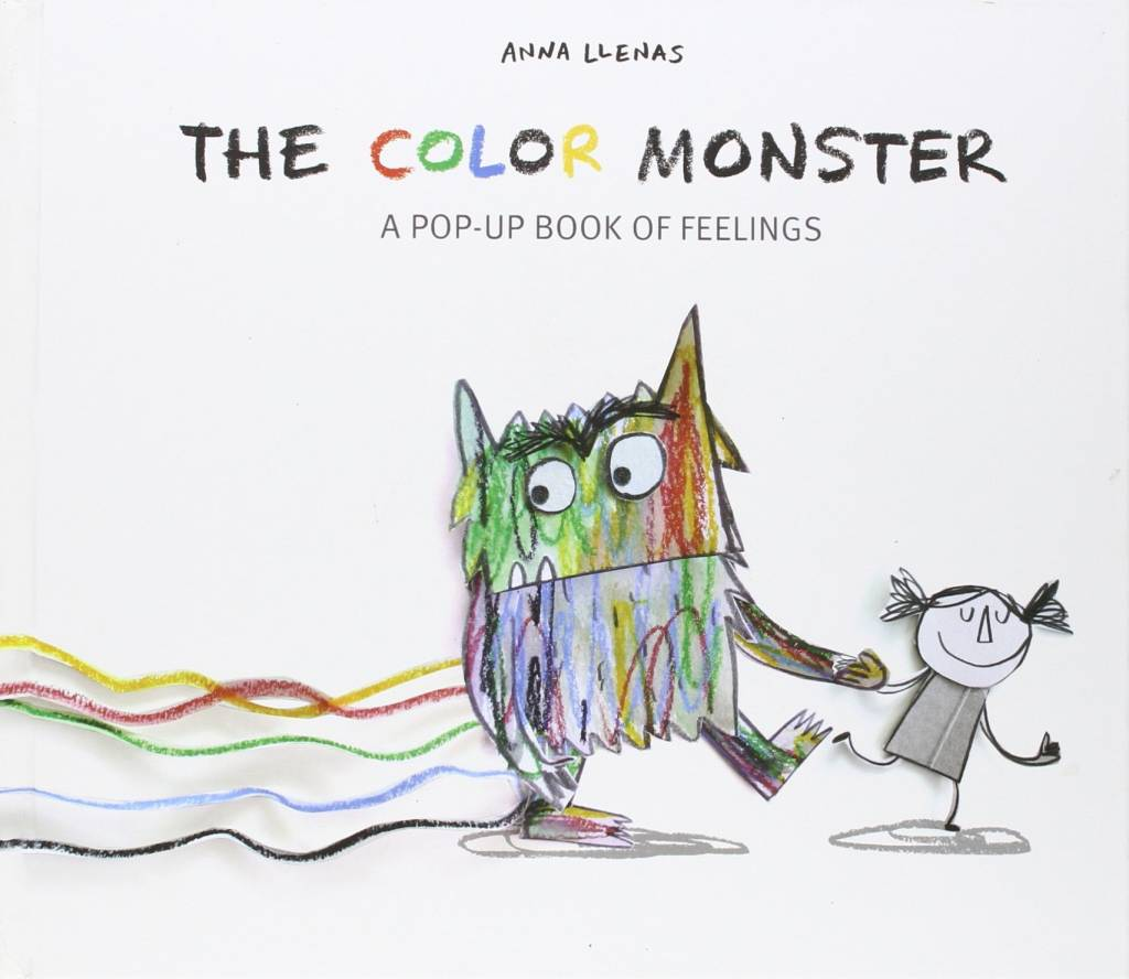 color monster - Feelings Coloring Book