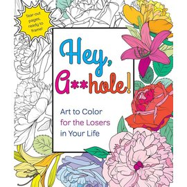 Macmillan Hey, A**Hole Coloring Book