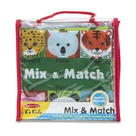 Melissa & Doug Cloth Book - Mix & Match