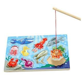 Melissa & Doug Magnetic Puzzle Fishing Game