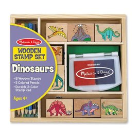 Melissa & Doug Stamp Set - Dinosaurs