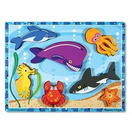 Melissa & Doug Chunky Sea Creatures Puzzle