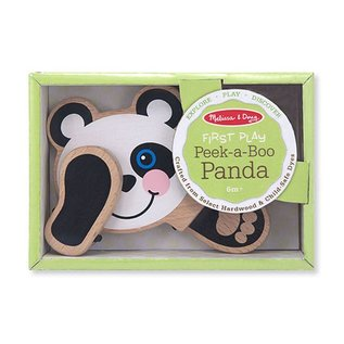 Melissa & Doug First Play Peek-a-Boo Panda
