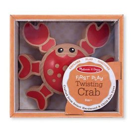 Melissa & Doug First Play Twisting Crab