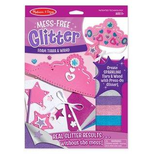 Melissa & Doug Mess-Free Glitter - Foam Tiara & Wand