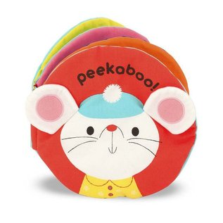 Melissa & Doug Cloth Book - Peekaboo!