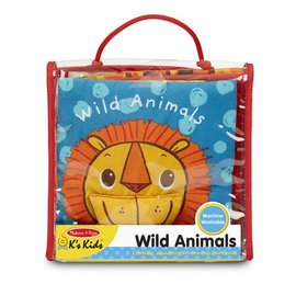Melissa & Doug Cloth Book - Wild Animals