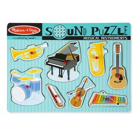 Melissa & Doug Sound Puzzle Musical Intrument