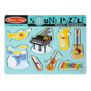 Melissa & Doug Puzzle - Sound Musical Intrument