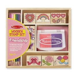 Melissa & Doug Stamp Set - Friendship