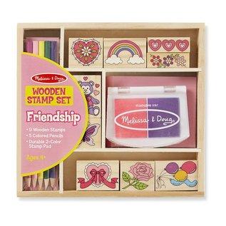 Melissa & Doug Stamp Set - Friendship