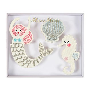 Meri Meri Embroidered Brooch Sets
