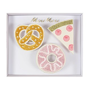 Meri Meri SALE Embroidered Brooch Sets