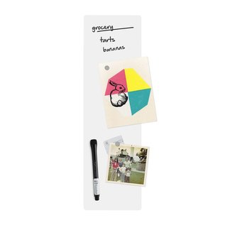 Three By Three enLister™ Dry Erase Magnet Board  - White