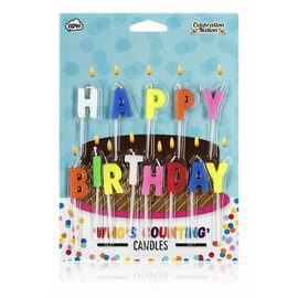 NPW (Worldwide) Candles - Happy Birthday
