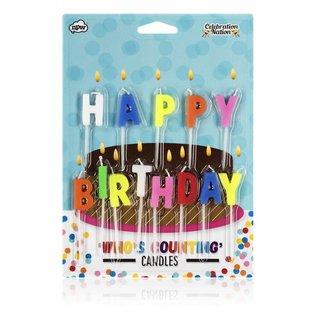 NPW (Worldwide) Candles - Happy Birthday