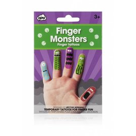 NPW (Worldwide) Monster Finger Tattoos