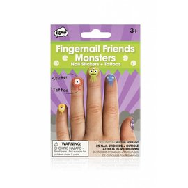 NPW (Worldwide) Monster Fingernail Friends