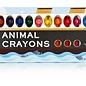 NPW (Worldwide) Animal Crayons 12 Pack