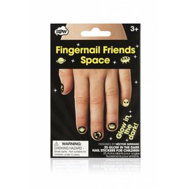 NPW (Worldwide) Fingernail Friends - Glow-in-the-Dark Space