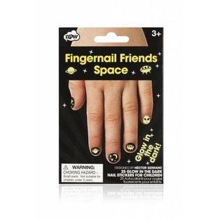 NPW (Worldwide) Fingernail Friends - Glow-in-the-Dark Space