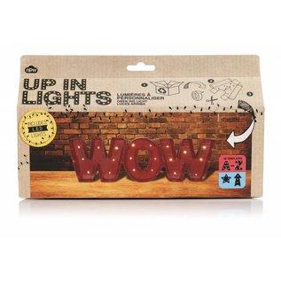 NPW (Worldwide) Up In Lights Letters