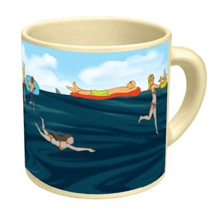 Unemployed Philosophers Guild Shark! Mug