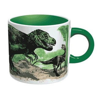 Unemployed Philosophers Guild Disappearing Dinosaur Mug