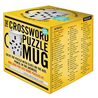 Unemployed Philosophers Guild Crossword Puzzle Mug