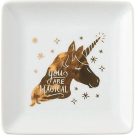 Waste Not Paper Unicorn Trinket Dish