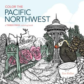 Workman Publishing Color the Pacific Northwest