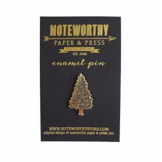Noteworthy Paper & Press Pine Tree Enamel Pin
