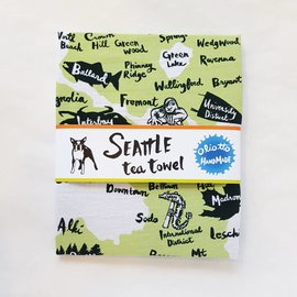 Oliotto Handmade Seattle Tea Towel