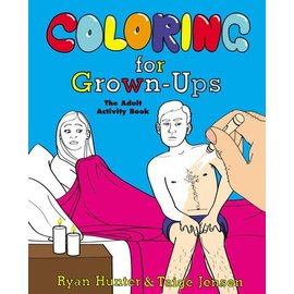 Penguin Group Coloring For Grown-Ups