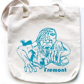 Little Orange Room Fremont Troll Tote