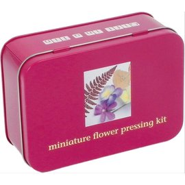 Streamline Kit In A Tin - Mini Flower Press