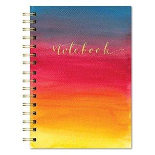 Studio Oh! / Orange Circle Studio Warm Watercolor Spiral Notebook
