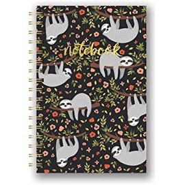 Studio Oh! / Orange Circle Studio The Sloth Life Spiral Notebook