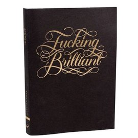 Chronicle Books Fucking Brilliant Journal