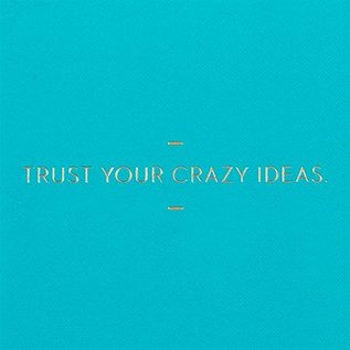 Compendium Motto Journal - Trust Your Crazy Ideas