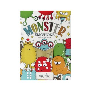 MiniLou Coloring Book - Monster Emotions