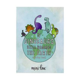 MiniLou SALE Coloring Book - If Dinosaurs Still Roamed The Earth