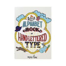 MiniLou Coloring Book - Alphabet Hand Lettered Type