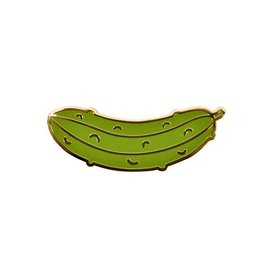 Seltzer Pickle Enamel Pin