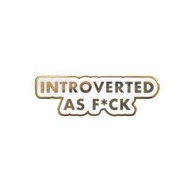 Seltzer Introvert Enamel Pin