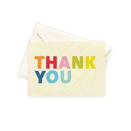Seltzer Colorful Thank You Notes