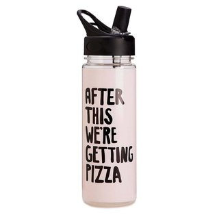 Ban.do After This We're Getting Pizza Water Bottle