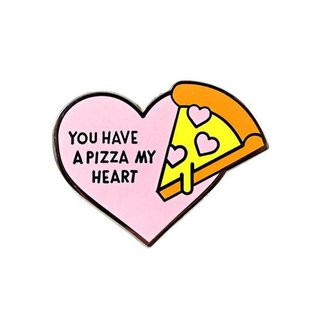 Valley Cruise Pizza My Heart Enamel Pin
