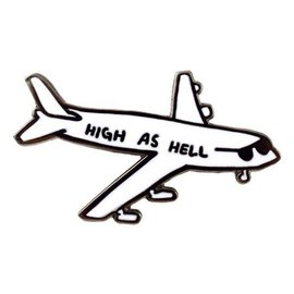 Valley Cruise High As Hell Enamel Pin