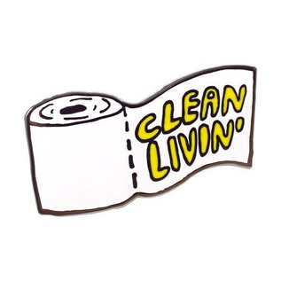Valley Cruise Clean Livin' Enamel Pin